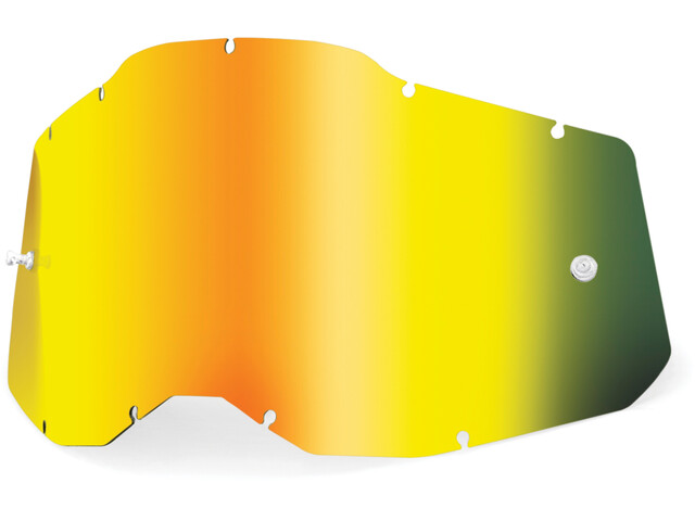 100% Anti-Fog Replacement Lenses Gen2 Youth, gold/mirror